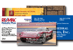 Business Card Printers in the Sarasota and Bradenton area.