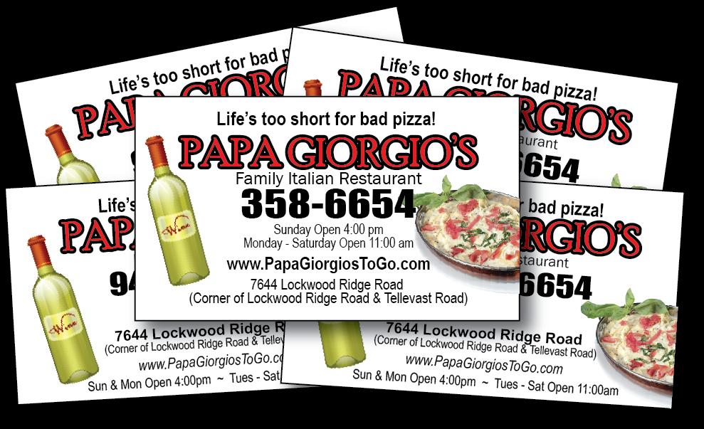 Papa Giorgio's Family Italian Restaurant